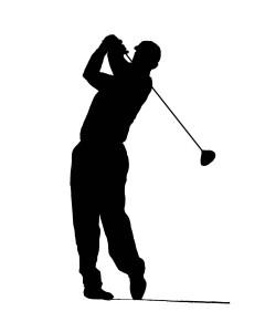 golfer sillouette 2
