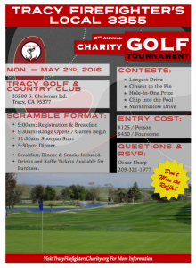 (2016) Golf Tourney Flyer